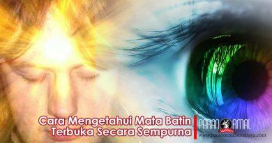 Cara Mengetahui Mata Batin Terbuka Secara Sempurna