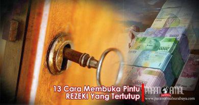 13 Cara Membuka Pintu Rezeki Yang Tertutup Dari Langit