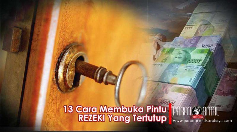cara membuka pintu rezeki yang tertutup