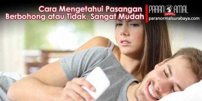Cara Mengetahui Pasangan Berbohong