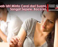 Penyebab Istri Minta Cerai dari Suami
